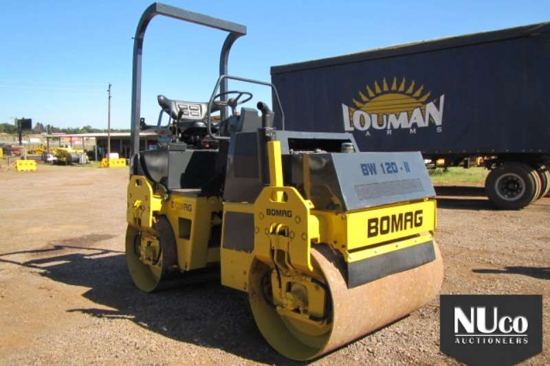 Bomag BOMAG BW120 2 RIDE ON ROLLER Rollers