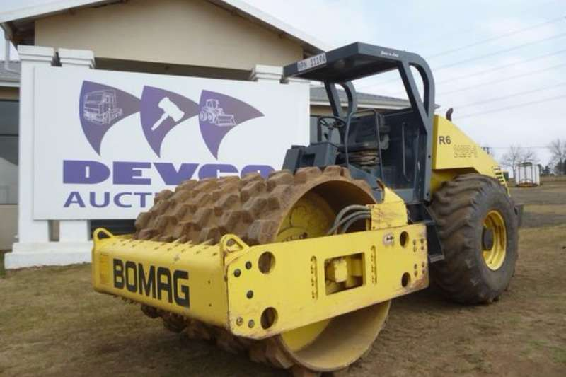 Bomag BW212 D-3 Padfood Roller Rollers