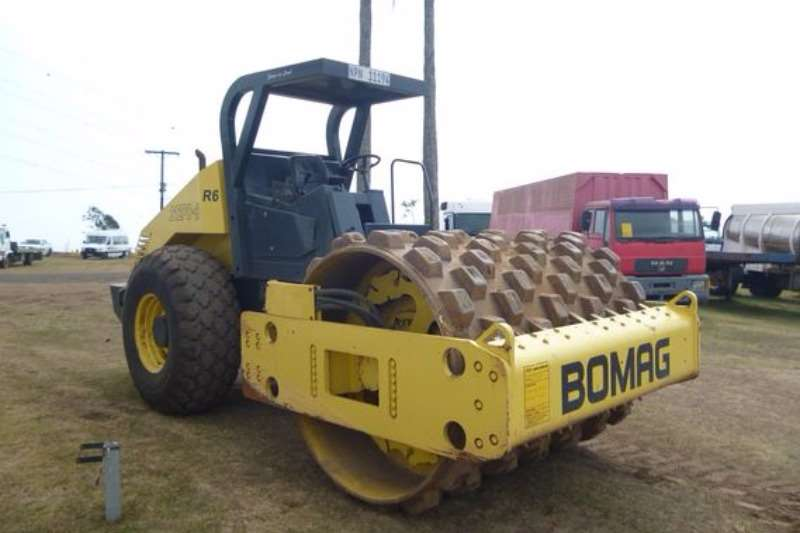 Bomag BW212 D-3 Padfoot Roller Rollers