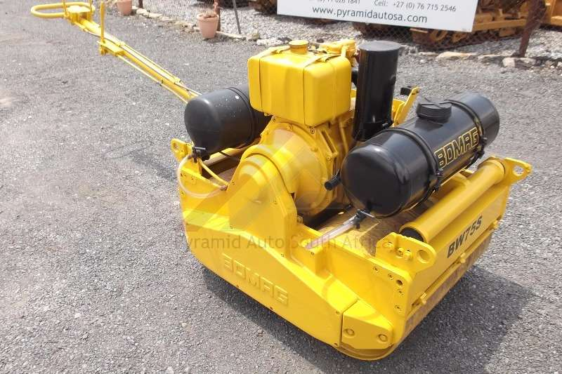 Bomag BW75S Rollers