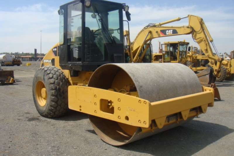 Rollers Caterpillar CS533E 2007