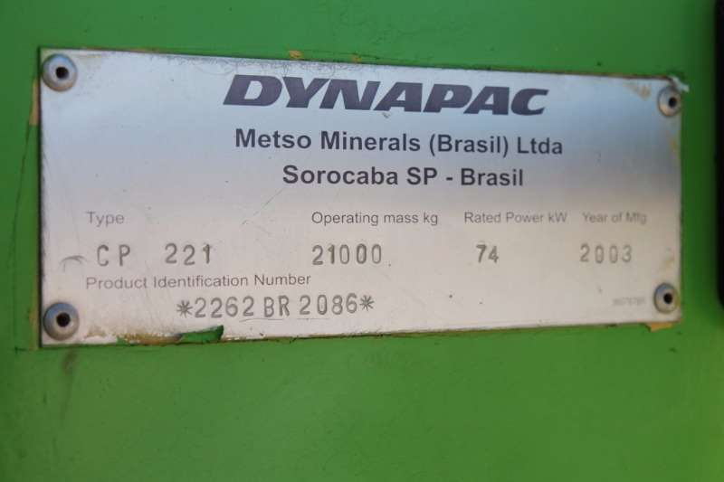 Dynapac Pneumatic Tyre Roller Rollers