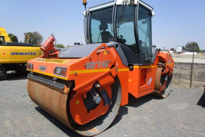Hamm HD140 Rollers