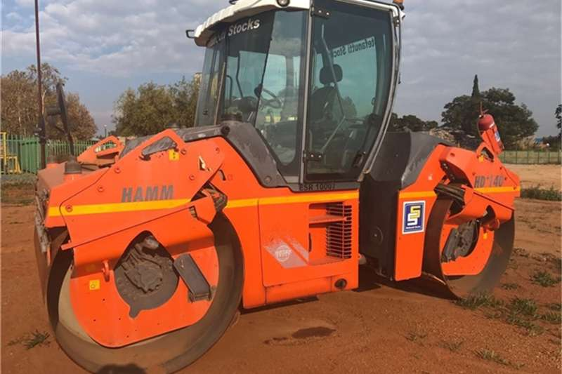 Hamm HD140 DOUBLE DRUM ROLLER Rollers