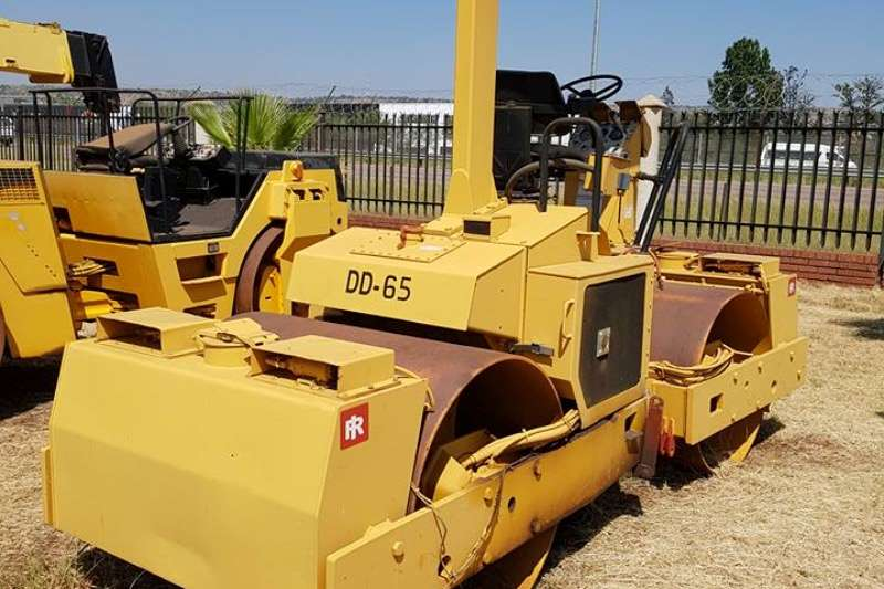 Ingersoll Rand ingersol rand DD65 double drum roller, 7.9 ton Rollers