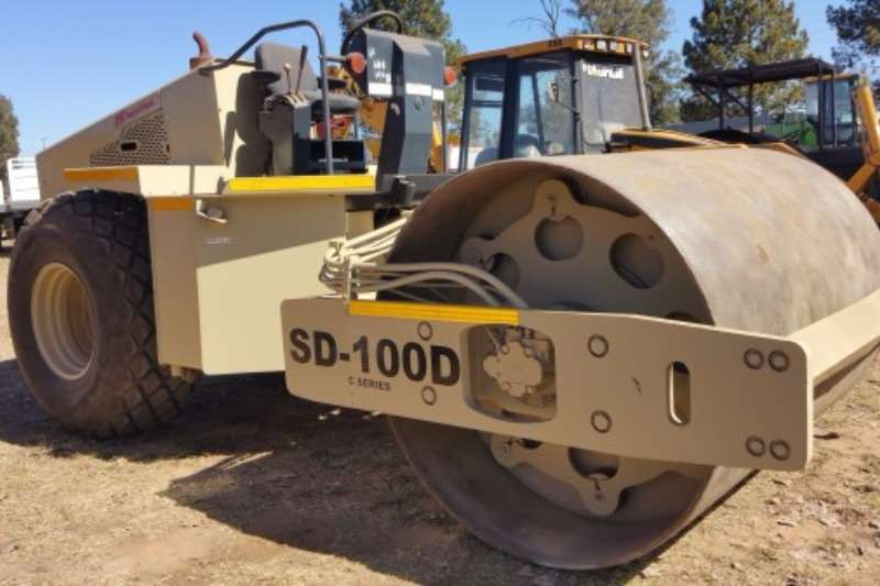 Rollers Ingersoll Rand SD100D 2007