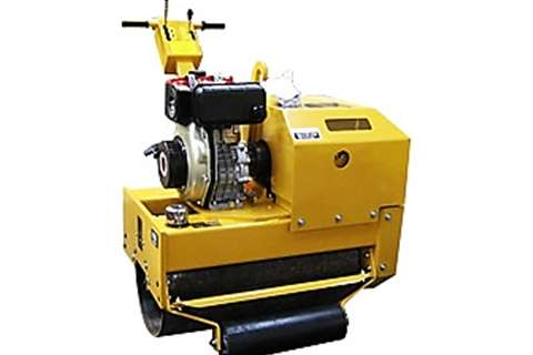 Sino Plant Vibratory roller Single Drum Roller 400 Kg Rollers