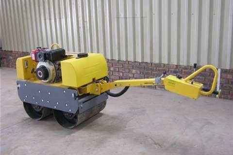 Sino Plant Vibratory roller Walk Behind Vibration Roller 770 Kg Diesel Rollers