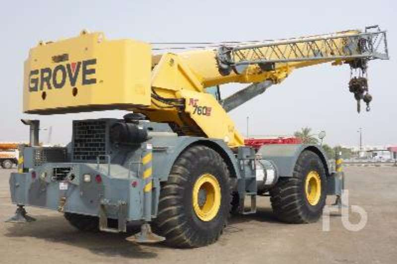 Grove RT760E Rough Terrain Crane