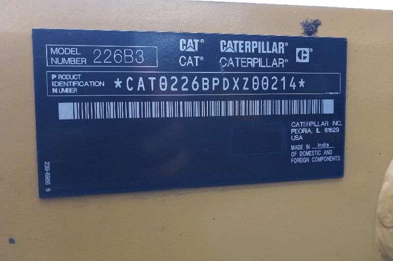 CAT 226B3 Skidsteer loader