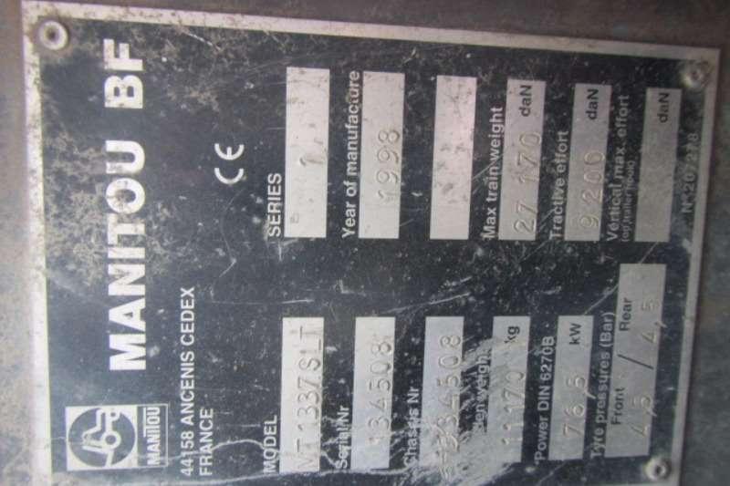 Manitou MANITOU MT1337 TELEHANDLER Telescopic handlers