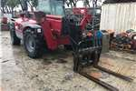 Telescopic Handlers Manitou MT 1740 WITH FORKS, BUCKET AND WORK PLATFORM 2007