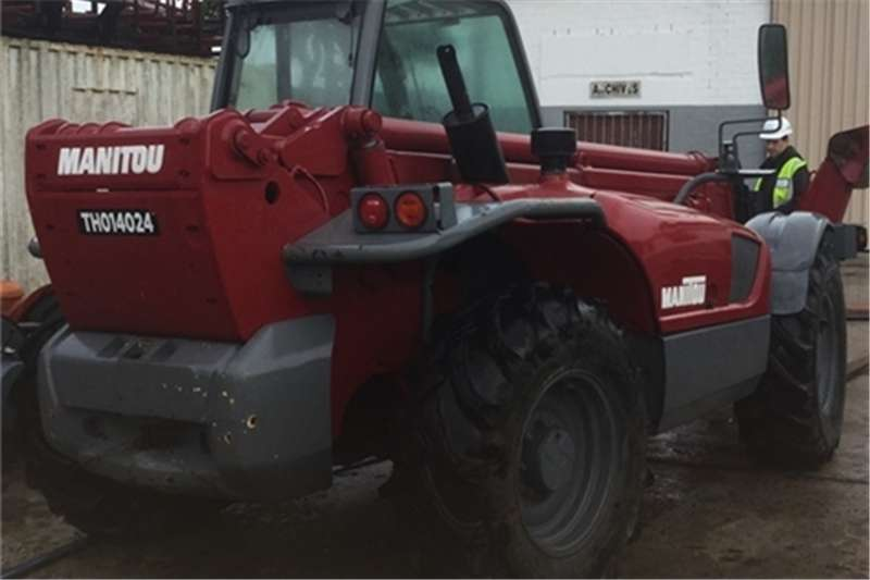 Manitou MT1740-3 (17METRE ) with (work platform/man cage) Telescopic handlers