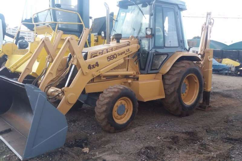 TLBs Case Case TLB 4×4 580LE 1996