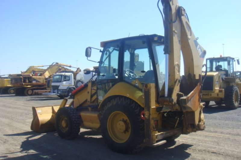 Caterpillar 428 E TLBs