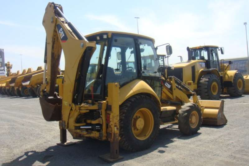 Caterpillar 428 F TLBs