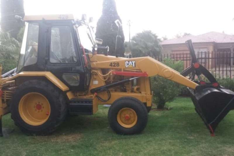 Caterpillar Cat 428 TLB for sale 2x4 TLBs