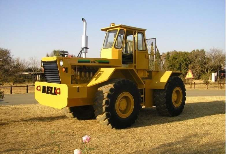 Bell 1756 Tractors - towing