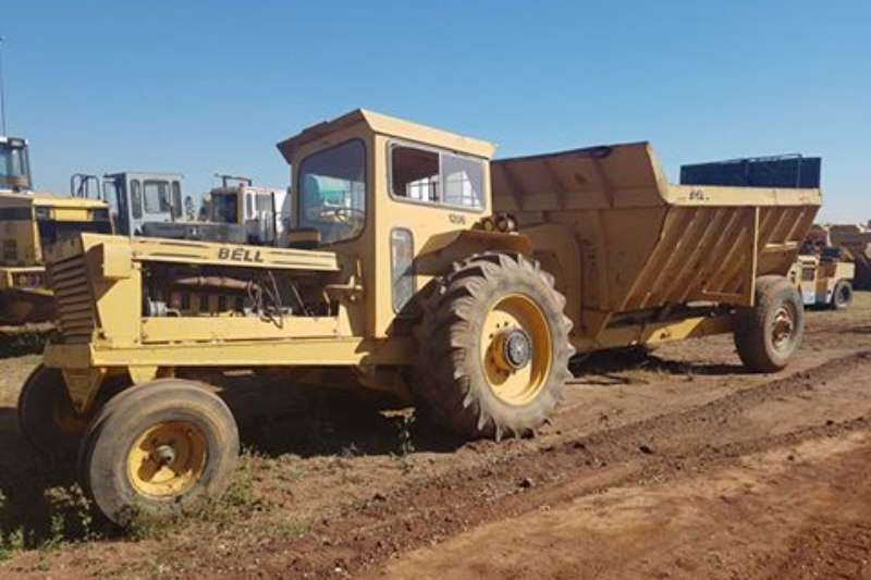 Bell Bell 1206 turbo, 2x4, with Trailer Tractors - towing