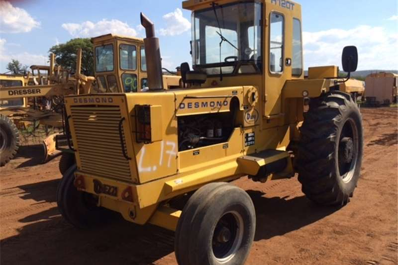 Dezzi H120T HAULER TRACTOR 4x2 Tractors - towing