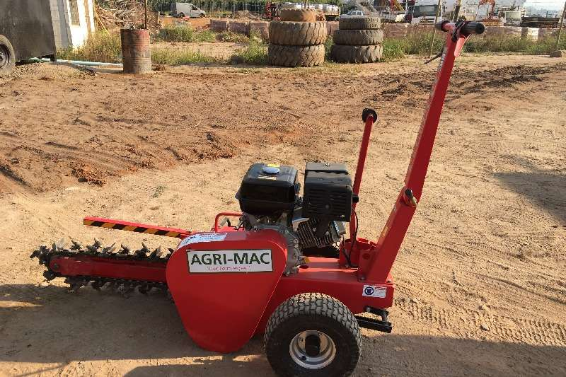 Ditch Witch Trencher, Agri-Mac, 150 mm Trencher