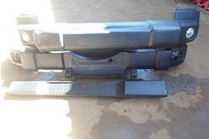 2011 Jeep Wrangler-Bumpers And Side Step