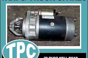 ADEADE 314/364/352/366 - 12V Short Nose STARTER Motor - New Replacement Parts Available