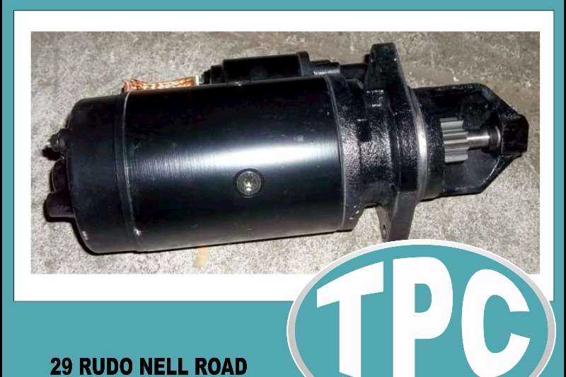 ADE ADE 364/366/352 24V Long Nose STARTER Motor - New Replacement Parts Available