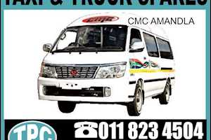 AMANDLACMC AMANDLA Taxi Replacement Spares: Tail Gate,Number Plate Holder,Tail Lamp,Rear Bumper & More