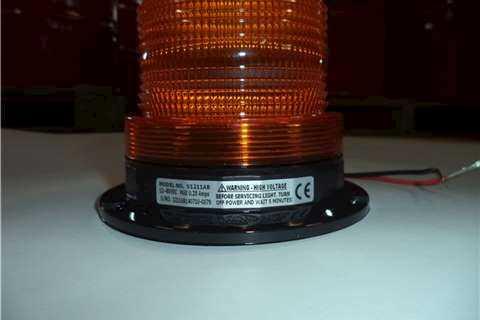 Amber Strobe Flashing Lamp