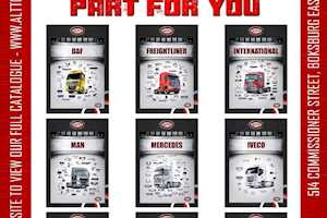 American, European & Japanese Truck Body Parts