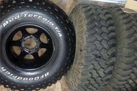 BFGOODRICH MUD-TERRAIN Tyres