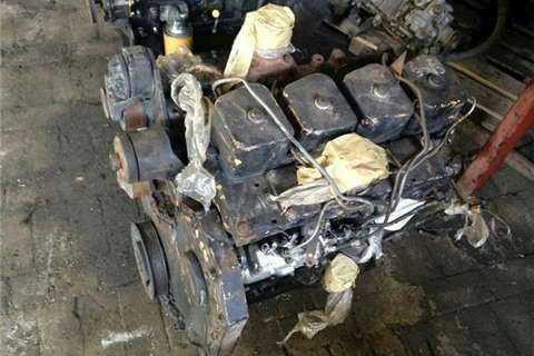 CASE 4 Cylinder Engine