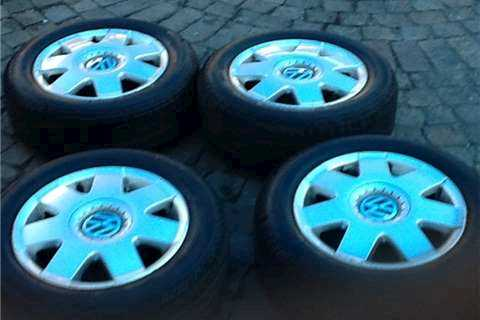 Continental Eco Sport Tyres & VW Polo Mags