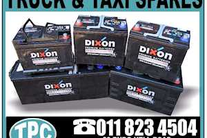 Dixon622  BATTERY For Sale At TPC - For Taxi's And More Spares Available