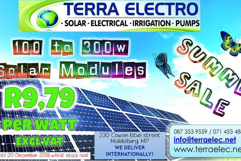 Enersol Solar Modules