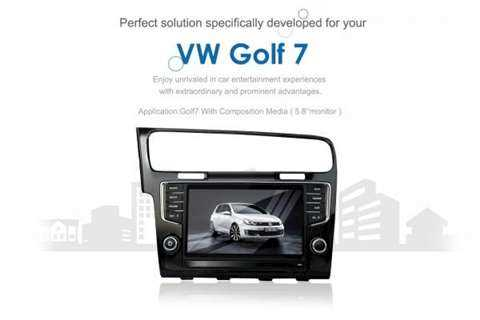 Finance On CAR DVD GPS Unit For Our Vehicle VW GOLF 7