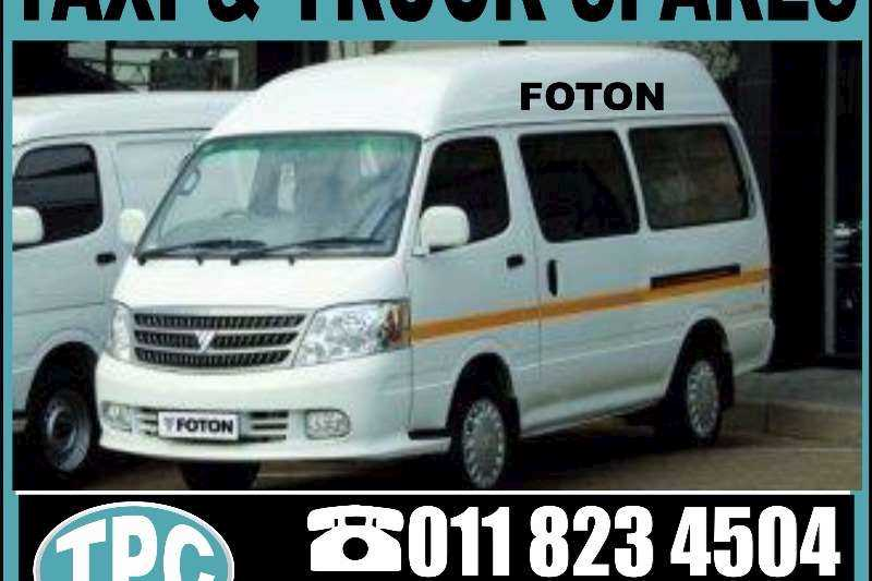 FOTON FOTON Taxi REPLACEMENT Spares:Nose Panel,Front Bumper, Grill,Head Lamp And More