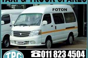 FOTONFOTON Taxi REPLACEMENT Spares:Nose Panel,Front Bumper, Grill,Head Lamp And More