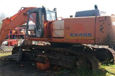 HITACHI EX455 EXCAVATOR SPARES/PARTS EX450