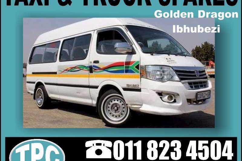 IBHUBEZI GOLDEN DRAGON IBHUBEZI Taxi Replacement Parts:Step,Bumper,Grill,Head Lamp Etc