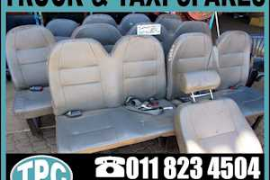 INYATHIC.A.M INYATHI Used  Taxi Seats - Full Set On Special & More Replacement Parts