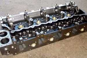 Isuzu4HE1 Cylinder Head   NEW