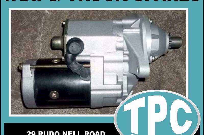 ISUZU ISUZU 6HE/H1 - 24V STARTER Motor - New Replacement Parts Available At TPC