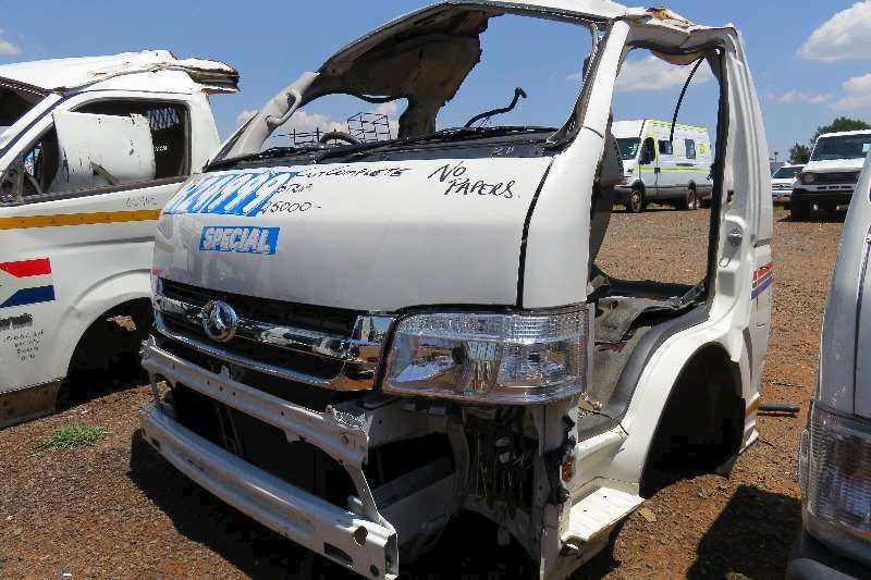 Large Selection Of Taxi Front Cuts Available At TPC Scrapyard:Quantum,Sasuka,NV350, Inyathi Etc