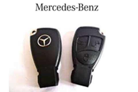 Mercedes Smart Keys Mercedes Smart Key - Black