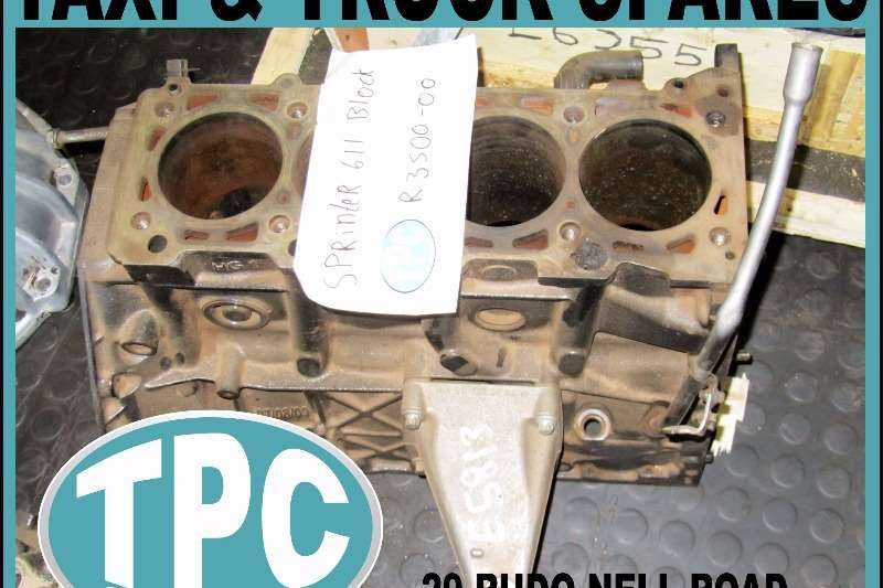 MERCEDES SPRINTER 611 BLOCK - Used - Good Condition Replacement Parts At TPC
