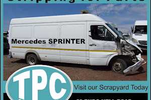 MERCEDESSPRINTER Stripping For Parts:Body Panels,Engine,Gearbox,Step,Seats, Step Etc