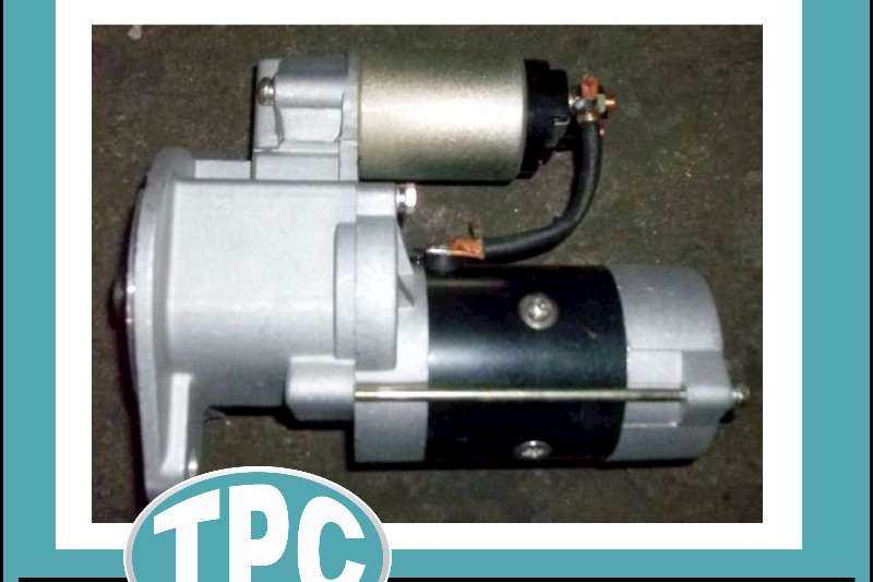 NISSAN NISSAN ED30/33 - 24V STARTER Motor - New Replacement Parts For Sale At TPC