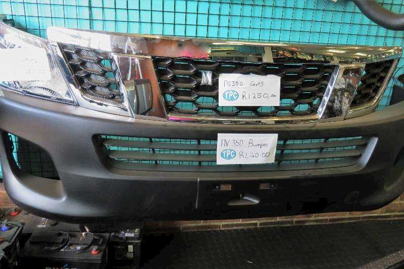 NISSAN NISSAN NV350 Grill, Bumper And Headlamps - New Spares Available